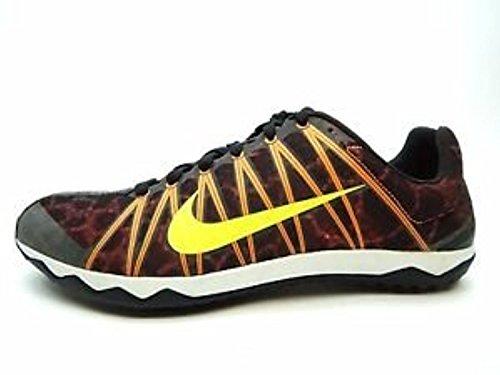 Nike Mens Zoom Rival Xc Hardloopschoenen Zwart Oranje