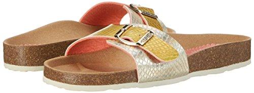 Donna 1024 Desigual And Sandals Bio1 Heels Plata beige Beige Oro xzzYAqUrw