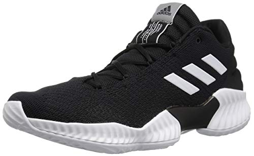 innovative design af0a9 3e026 adidas Men s Pro Bounce 2018 Low Basketball Shoe, White Black, 14 M US