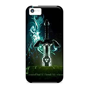 AshleySimms Apple Iphone 5c Best Hard Cell-phone Cases Provide Private Custom Beautiful The Legend Of Zelda Skin [tkw8062dgfX]