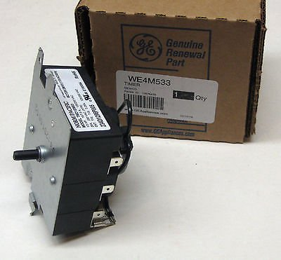 Washers & Dryers Parts WE4M533 GE General Electric Dryer Control Timer OEM AP5780508 PS8690648