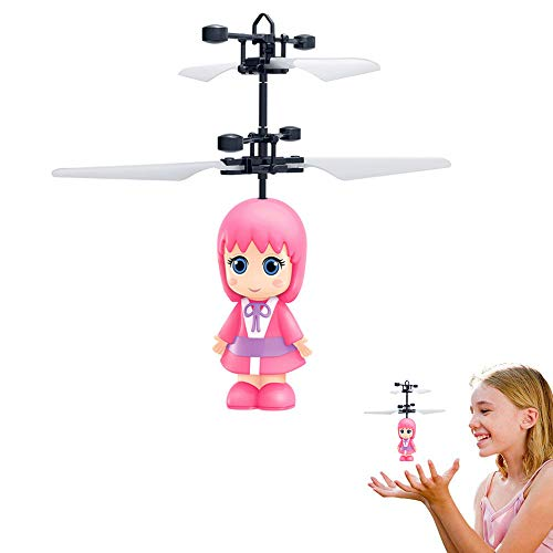 LIDANDAN Flying Princess Doll--Infrared Induction Toys--Magic and Best Gift for 4-10 Year Old Girl Kids Toy--Flying Fairy Doll]()