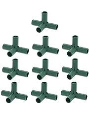 Lary 16 mm PVC fitting, constructie, heavy duty broeikas, frame, meubelverbinding, plantenpalen, vechten, buisverbinding, PVC-armatuur, bouw, hoge prestaties voor bloemstandaarden en broeikaskaders
