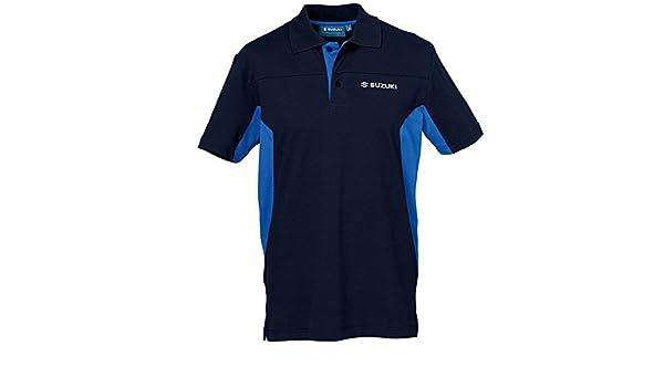 Suzuki - Polo - para Hombre Blau Blau L: Amazon.es: Ropa y accesorios