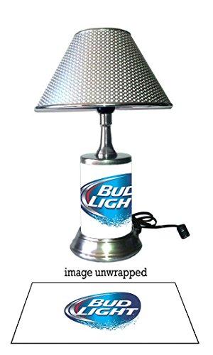 bud-light-lamp-with-chrome-shade-logo