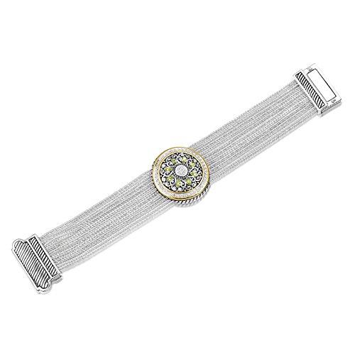 UNY Pave Crystals designer Inspired David Bracelets alloy bangle jewelry Vintage Antique Jewelry
