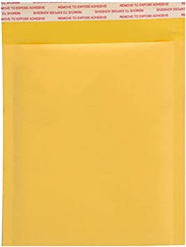 160mm Ogquaton 10x Bubble Mailers Sobres Acolchados Embalaje Bolsas de env/ío Kraft Bubble Mailing Envelope Bags 140