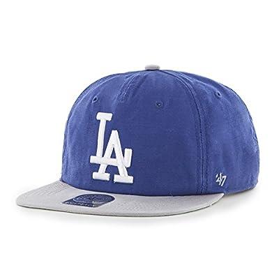 Los Angeles Dodgers Royal Marvin 47 Captain Wool Snapback Hat
