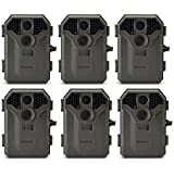 Stealth Cam 8MP No Glo Invisible Infrared Game Trail Camera w/Video | STC-P36NG (6 Pack)