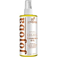 ArtNaturals Tanning Oil and Accelerator Spray - (8 Fl Oz / 236ml) - Moisturizing and Protective Benefits - Made and Infused with Natural Ingredients - Coconut, Safflower, Avocado and Jojoba Oil