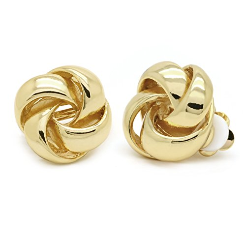 Love Knot Clip On Earrings Smo