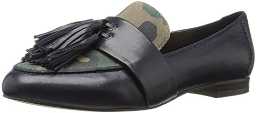 The Fix Women's Fabiana Tassel Penny Loafer, Midnight Navy/Camo, 8 M US by The Fix (Image #1)