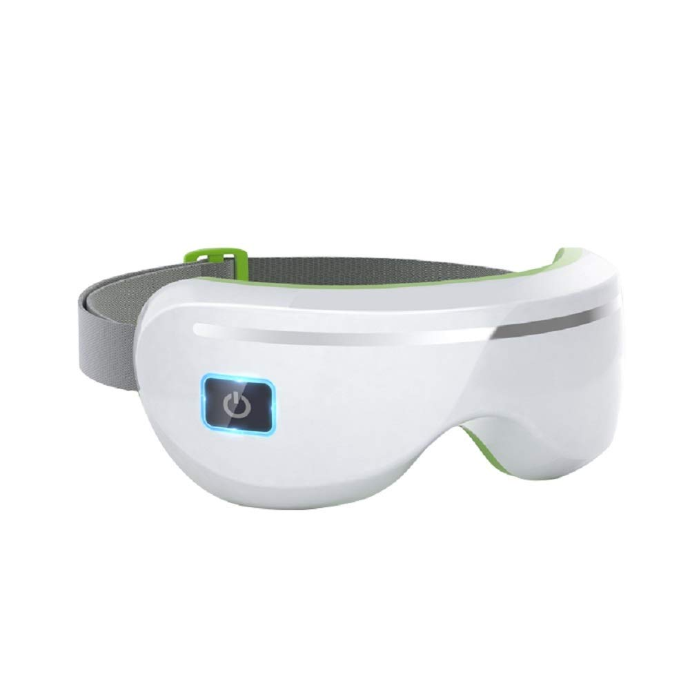 HYYスマートワイヤレスアイマッサージャー、アイヘルスケアマシン、視覚保護装置、音楽&振動リラクゼーション看護   B07QMRYQ8N
