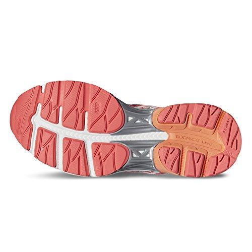 Weiblich 9601 Asics 4 white T764n Pink Midgrey Schuhe Flux diva Gel SvdqFv