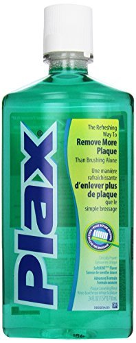 Plax Advanced PreBrushing Dental Rinse, Soft Mint, 24 Oun...