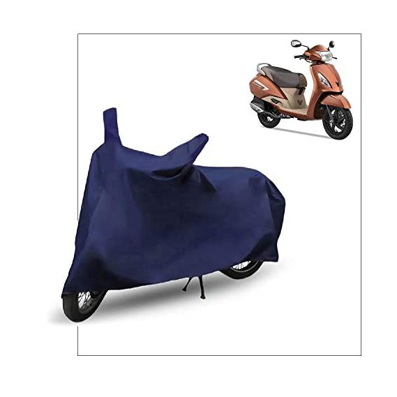 FABTEC Scooty/Scooter Cover for TVS Jupiter (Blue)