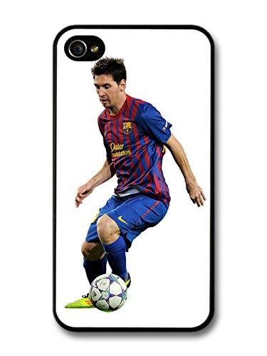 Lionel Messi La Pulga FC Barcelona Football Player hülle für iPhone 4 4S