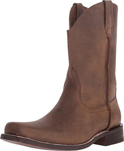 ARIAT Men's Rambler Square Toe Boot,Tobacco Brown Leather,US 7 2E