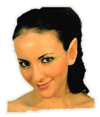 Fairy Pixie Elf Latex Ears Prosthetic Application Accessories for Halloween Party and Cosplay
