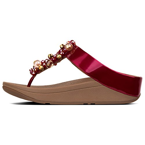 FitFlop Sandals Deco Fire Red FitFlop Red Sandals Deco Deco Sandals FitFlop Fire Fire UwpCqxt