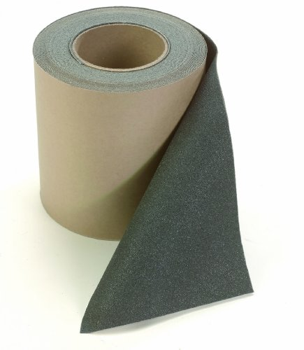 Wearwell 698 Slip-Resistant Grit Surface Movement Reduction Safety Track Tape, Full Roll, for Indoor Areas, 1