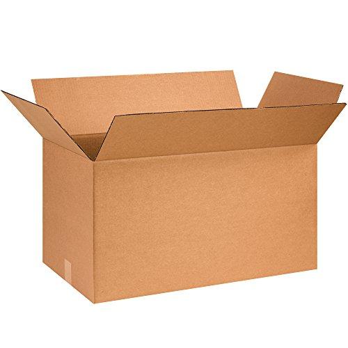 """UPC 190651007210, BOX USA B261414 Corrugated Boxes, 26"""" x 14"""" x 14"""", Kraft (Pack of 10)"""