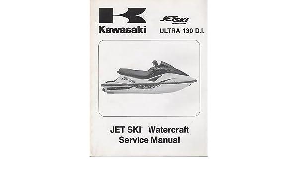 2001 kawasaki watercraft jet ski ultra 130 d i service manual 745 rh amazon com Kawasaki Jet Ski Super Sport Jet Ski Kawasaki Ultra Red