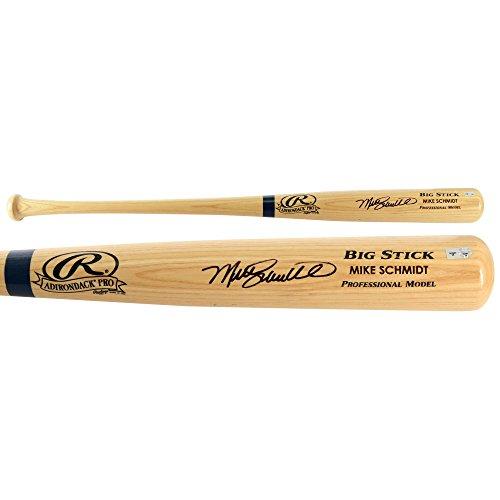 Mike Schmidt Philadephia Phillies Autographed Blonde Big Stick Bat - Fanatics Authentic Certified - Autographed MLB Bats