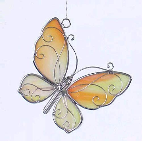 Stained Glass Butterfly Sun Catcher, ()