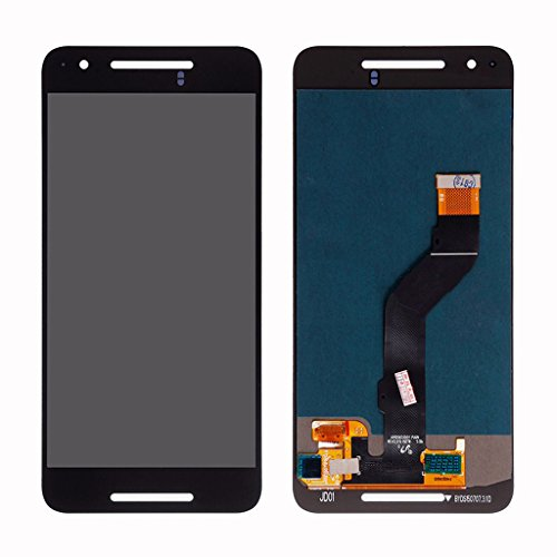 Digitizer Lens - LCD display Digitizer touch screen Panel Lens Assembly For Google Huawei Nexus 6P H1511 H1512 (Black)