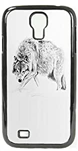 HeartCase Hard Case for Samsung Galaxy S4 I9500 I9508 I959 ( Wolf Animal ) by ruishername
