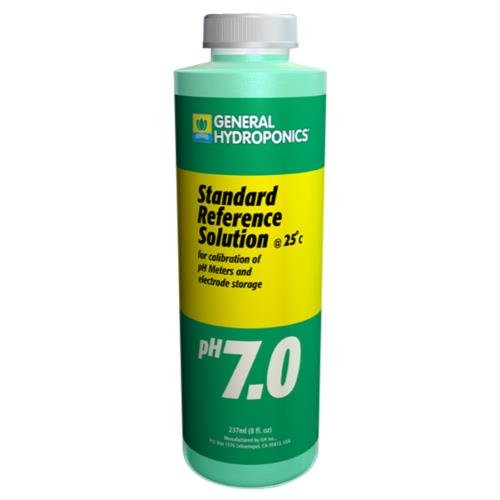 GH pH 7.01 Calibration Solution 8 oz by General Hydroponics