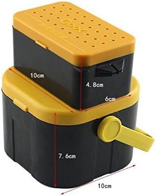 Nueva caja de almacenamiento de cebo de pesca con anzuelo para ...