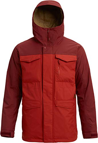 Burton Men's Covert Jacket, Sparrow/Bitters, Medium