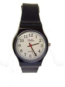 Reflex - Reloj de mujer hipoalergénico, color negro