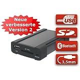 XCarLink 2 USB SD AUX MP3 Wechsler KFZ Auto Radio Music Interface Adapter für Lancia, Fiat, Alfa Romeo