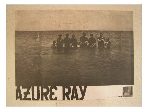 Azure Ray Poster Black And White Now Its Overhead It's