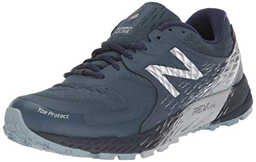 New Balance Women's Skom - Summit King of Mountain V1 Trail Running Shoe, Dark Grey
