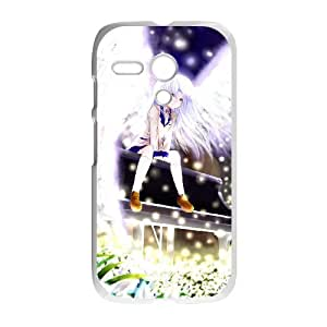 Motorola G Cell Phone Case Covers White Angel Beats Phone cover SE8592097