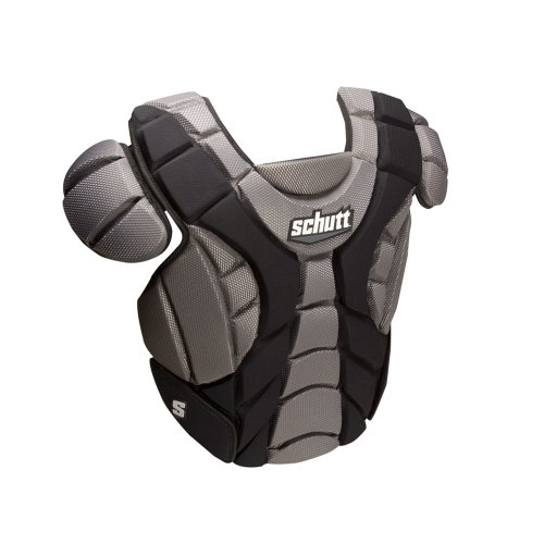 Schutt Sports Scorpion Chest Protector for Softball (Black, 15-Inch) - 15 Inch Catchers Chest Protector