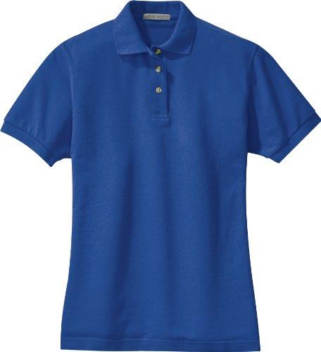 Port Authority - Ladies Pique Knit Sport Shirt. L420 - Royal - X-Large