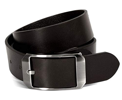 (CU9-133) Mens Belt 100% Real Leather Black, Brown, White Size 28~36