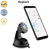 Tech Sense Lab Universal Magnetic Mobile Mount for Car, Dashboard, Windscreen or Work Desk(Magback)