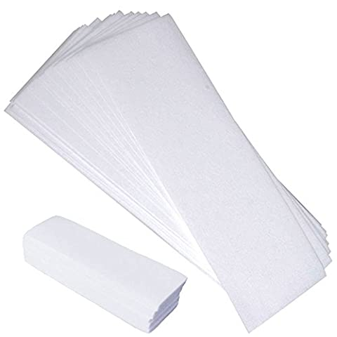 Epilating Waxing Strips Non-Woven, 100 count (50 small, 50 large) - Non Woven Waxing