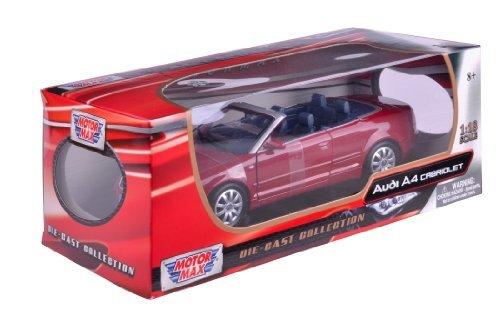 ventas en linea Richmond Juguetes 1 18 Audi A4 A4 A4 Die-Cast Collectors Model Coche (Cabriolet rojo) by Richmond Juguetes  tomar hasta un 70% de descuento