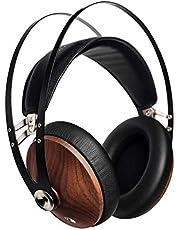 Meze Audiophiler Over Ear hoofdtelefoon met leuk design 99 Classics hohem Trageko hohem zilver, bruin.