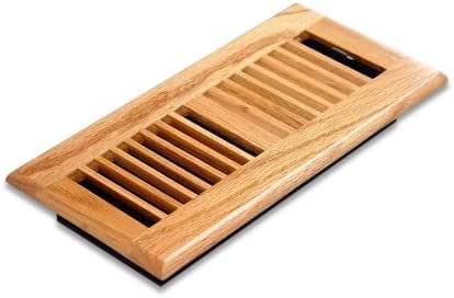 Decor Grates Drop in Floor Vent Twin Pack- Natural Oak 4 ...