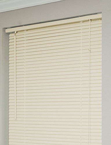 Achim Home Furnishings 1-Inch Wide Window Blinds, 35 by 64-Inch, Alabaster