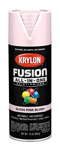 Krylon K02717007 Fusion All-in-One Spray Paint, Pink Blush