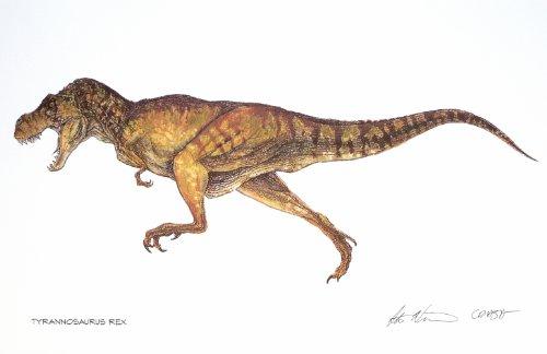 Jurassic Park Limited Edition Art Print Lithograph - Tyrannosaurus Rex